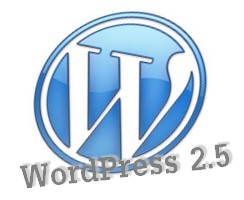wordpress2.5