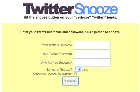 twittersnooze