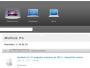 Manuales de productos Apple