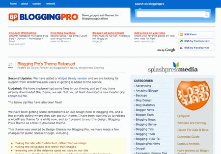 Bloggin Pro
